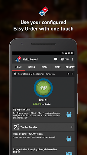 Domino's Pizza screenshot 1