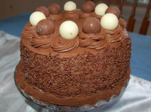 "Chocolate Truffle Cake ""This was absolutely amazing! A hit here and at work...."