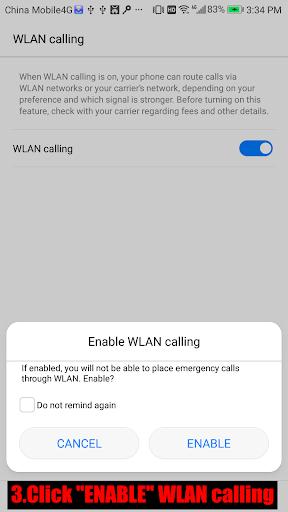 Wifi Calling 1.0.4 screenshots 3