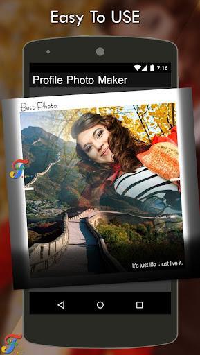 Profile Photo Frame 1.5 screenshots 1