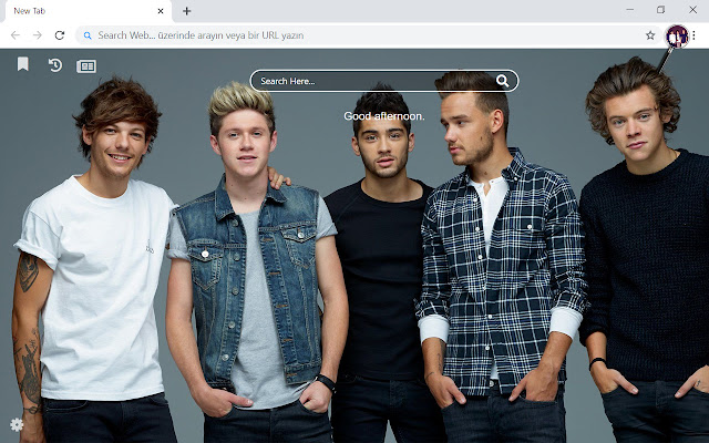 One Direction HD Wallpapers New Tab Theme