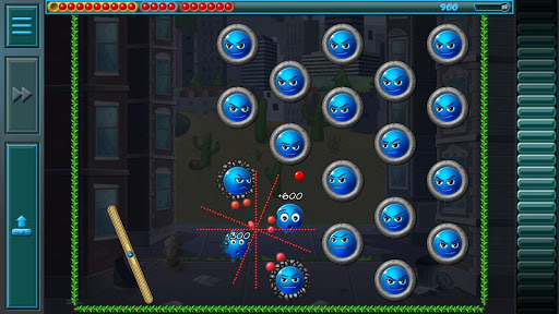 Evil Orbs - Brick Breaker and Bubble Shooter - screenshot