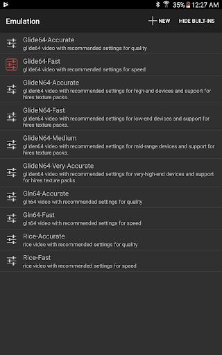 Mupen64Plus FZ (N64 Emulator) screenshot 7