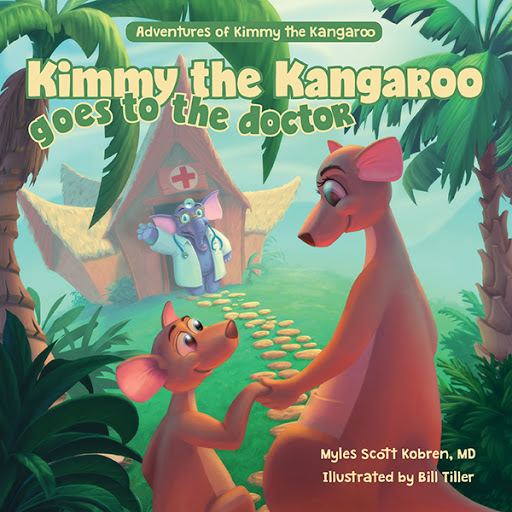 Kimmy the Kangaroo Goes to the Doctor cover