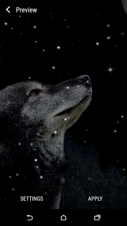 Wolf And Moon Live Wallpaper Android Applications Appagg