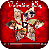 Valentine Day Video Maker 2018 - Slideshow Maker