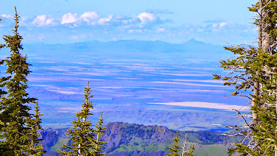 Photo: Bear Paws with telephoto - Bear Paw Baldy is high point (climbed that one on June 19)