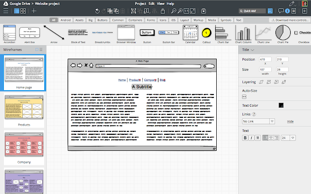 Balsamiq Wireframes (FREE TRIAL) - Chrome Web Store
