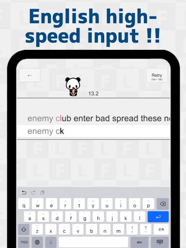 Flick Typing input practice app apkdebit screenshots 9
