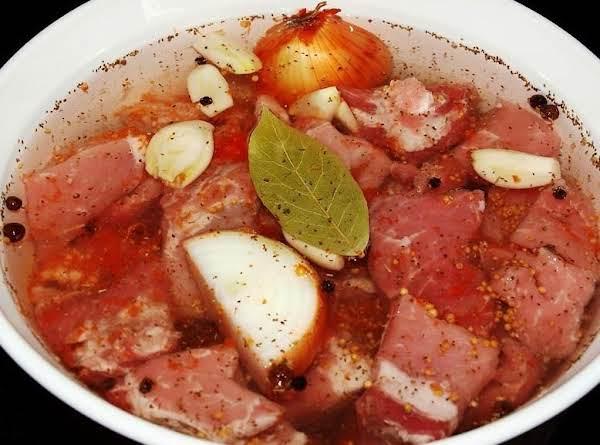 Pickled Pork Or Pickle Meat