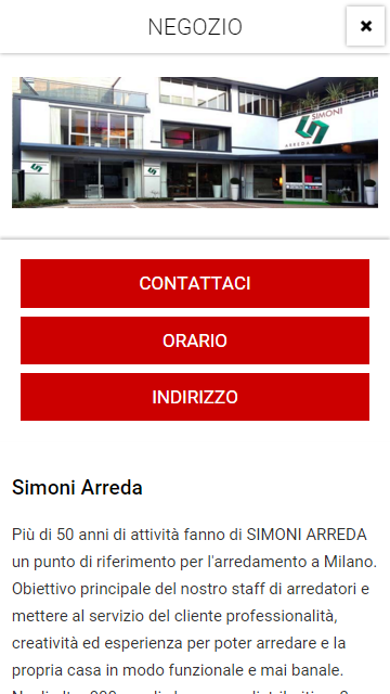 Simoni Arreda- screenshot