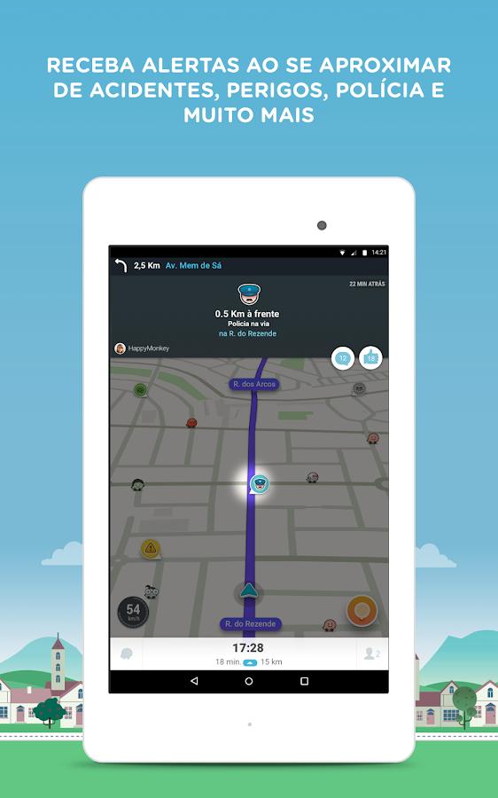 waze gps mapas e tr nsito apps para android no google play. Black Bedroom Furniture Sets. Home Design Ideas