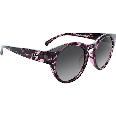 Optic Nerve ONE Rizzo Polarized Sunglasses: Shiny Purple Marble with Polarized Smoke Fade Lens