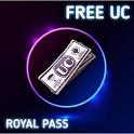 Free UC & Free Royal Pass : Free UC PUB icon