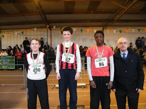 Photo: National Winners in the Boys U/13 Long Jump - 1st Moycarkey Coolcroo A.C.