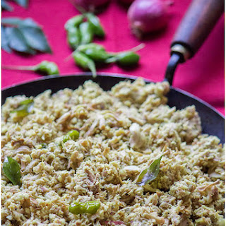 Idichakka Thoran / Tender Jackfruit Stir fry with coconut