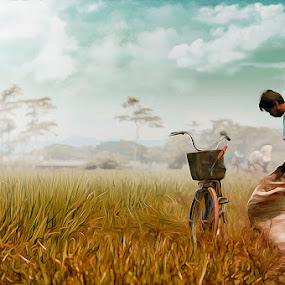 Ater Farming by E-Graphic Rider - Digital Art People