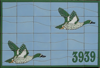 Photo: Address Mural Private Residence - Westlake Village, CA