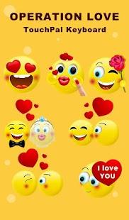 Operation Love Keyboard Sticker - náhled