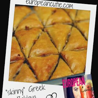 """skinny"" Greek baklava ♥"