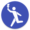 Olympic Torch Relay Map icon