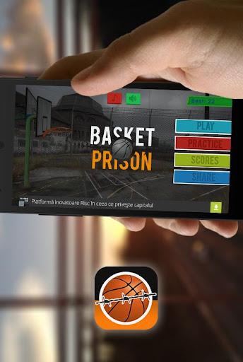 Prison Basket - A Basket Game