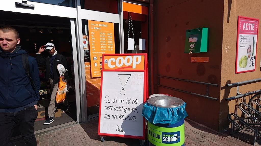 AED bij de Coop
