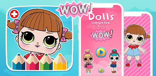 Dolls Coloring Book Surprise Lol Indir Pc Windows Android Com
