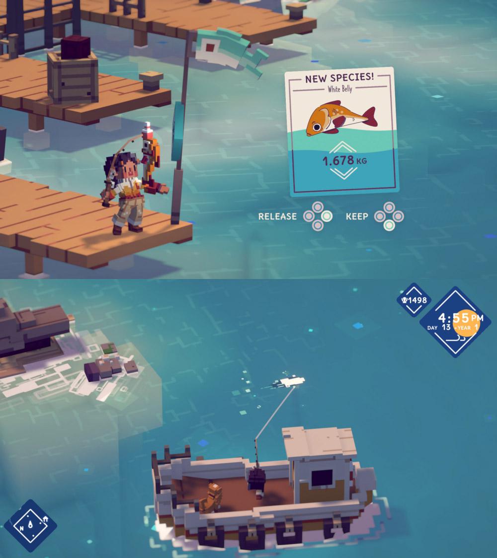เปิดตัว Moonglow Bay เกมตกปลาในโลกสี่เหลี่ยมสุดผ่อนคลาย 3