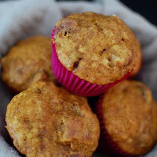 Pumpkin Streusel Cranberry Muffins