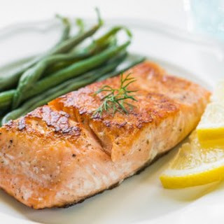 Grilled Salmon.