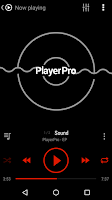 Screenshot of PlayerPro Skin KK