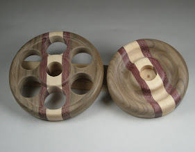 """Photo: 5/8"""" holes drilled for spindle"""