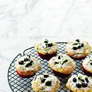 The Fat Pigeon's Blueberry & White Chocolate Muffins