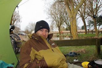 Photo: Day 4 - Rog at New Beach Camp Site in Dymchurch