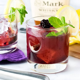 Blackberry Bourbon Lemonade.