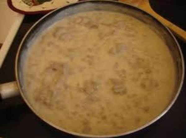 Add sausage back to gravy mixture and cook for 1 to 2 minutes or...