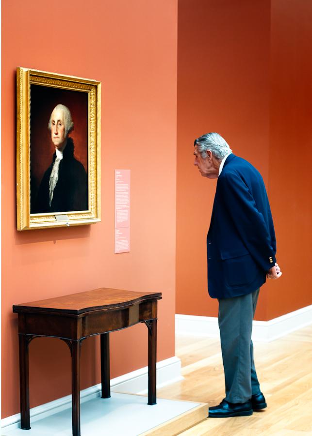by Gerald Fleury - People Portraits of Men ( senior citizen )