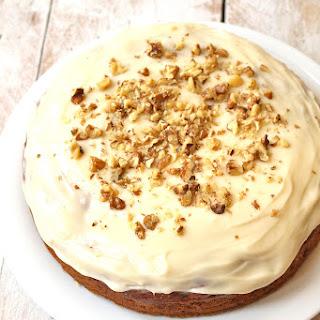 Vegan Spelt Carrot Cake.
