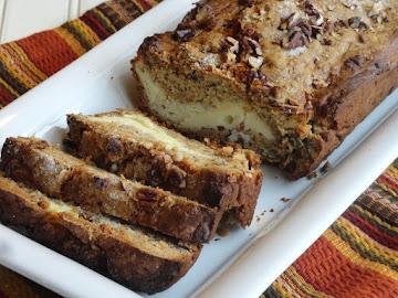 Aunt Lynda's Cream Cheese Filled Banana Bread Recipe