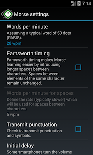 Morse Notifier Free- screenshot thumbnail
