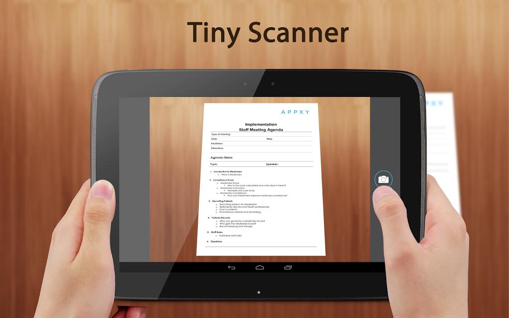 Tiny Scanner : Scan Doc to PDF screenshots