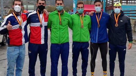 El remo andaluz logra seis oros, cuatro platas y cuatro bronces en Orense