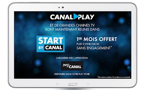CANALPLAY Capture d'écran