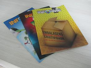 Photo: Informes publicitários e com acabamentos especiais.