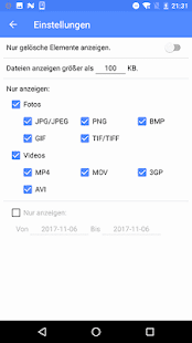 EaseUS MobiSaver-Gelöschte Daten wiederherstellen Screenshot