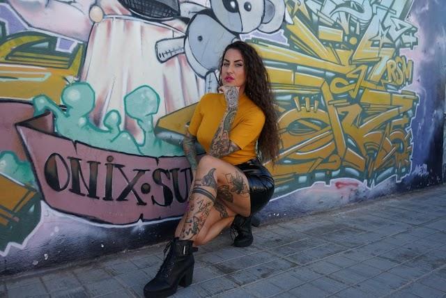Imagen de los tatuajes de Lucy