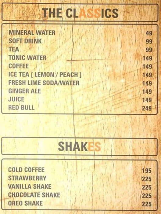 Bulldogs menu 1