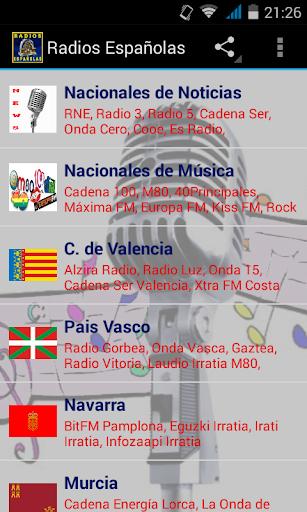 スペインのラジオ