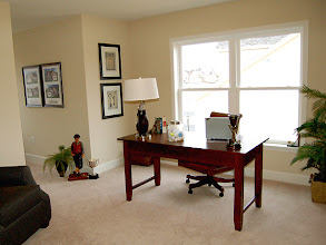 Photo: The study in our CATALINA model townhome at The Havilands in Queensbury, New York